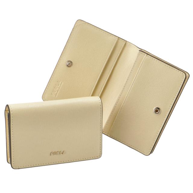 フルラ FURLA 2020年秋冬新作 二つ折り カードケース 名刺入れ BABYLON バビロン カードケース PCZ1UNO B30000 DFM00