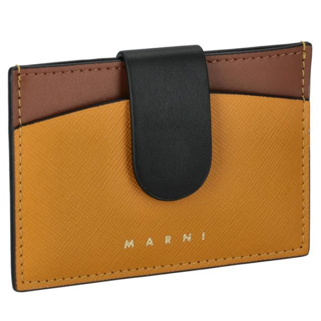 マルニ MARNI カードケース 名刺入れ バイカラー カードケース PFMO0012Q2 LV589 Z2G05【06-SS】