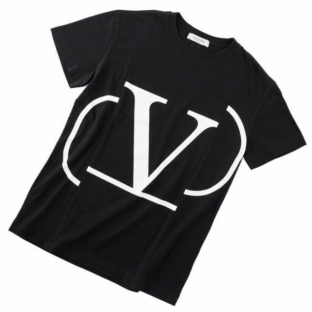 ヴァレンティノ・ガラヴァーニ VALENTINO GARAVANI 2019年春夏新作 ロゴTシャツ  XSサイズ Tシャツ/カットソー RB0MG01G 4LD 0NI