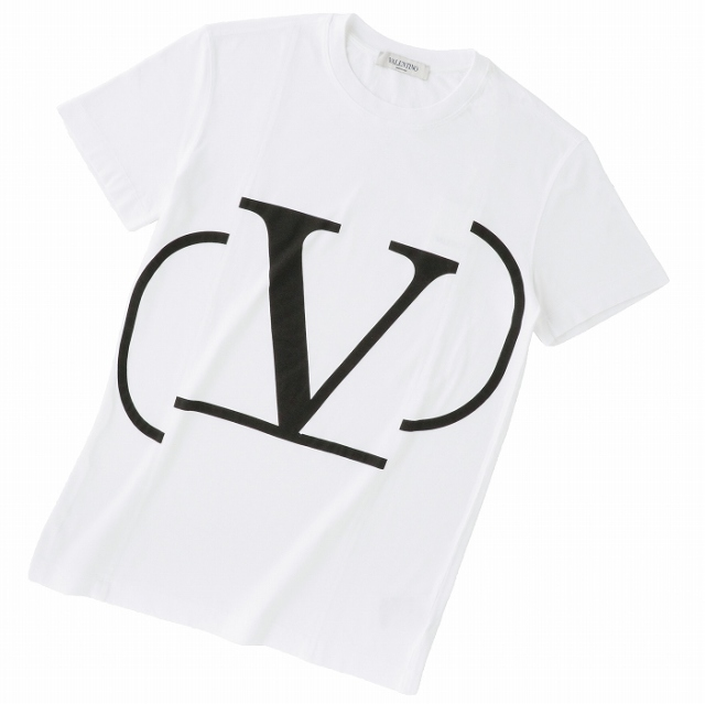 ヴァレンティノ・ガラヴァーニ VALENTINO GARAVANI 2019年春夏新作 ロゴTシャツ  XSサイズ Tシャツ/カットソー RB0MG01G 4LD A01