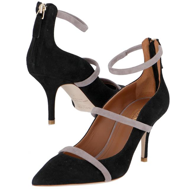 マローンスリアーズ MALONE SOULIERS 靴 パンプス スエード ROBYN70 0001 0001