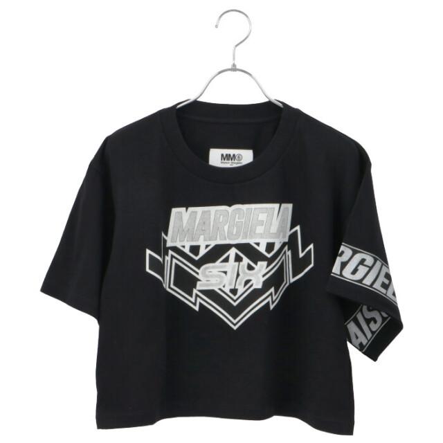 エム エム シックス メゾン マルジェラ モトクロス ロゴ クロップド Tシャツ/カットソー S52GC0176 S23588 900