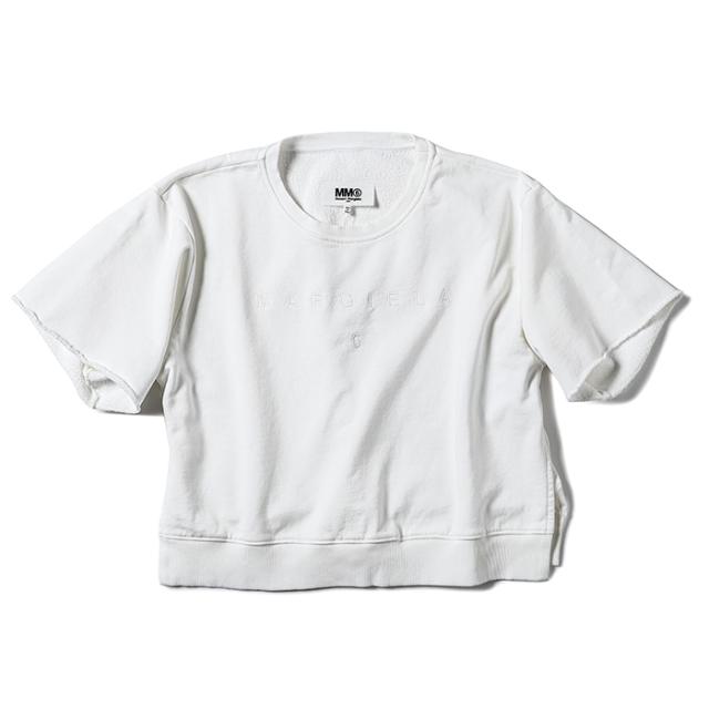エム エム シックス メゾン マルジェラ MM6 MAISON MARGIELA 2021年秋冬新作 ロゴ Tシャツ レディース ホワイト S52GU0142 S25337 101