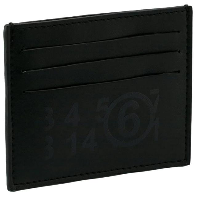 エム エム シックス メゾン マルジェラ MM6 MAISON MARGIELA 2021年春夏新作 ロゴ カードケース カードケース S54UI0129 P3993 T8013