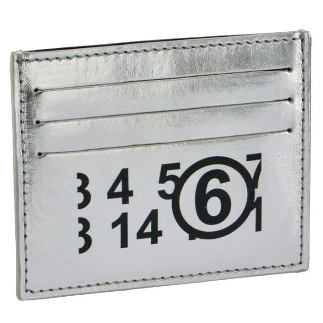 MM6 メゾン マルジェラ MM6 MAISON MARGIELA 2021年春夏新作 カードケース リバースロゴ 名刺入れ カードケース S54UI0129 P4099 T9002