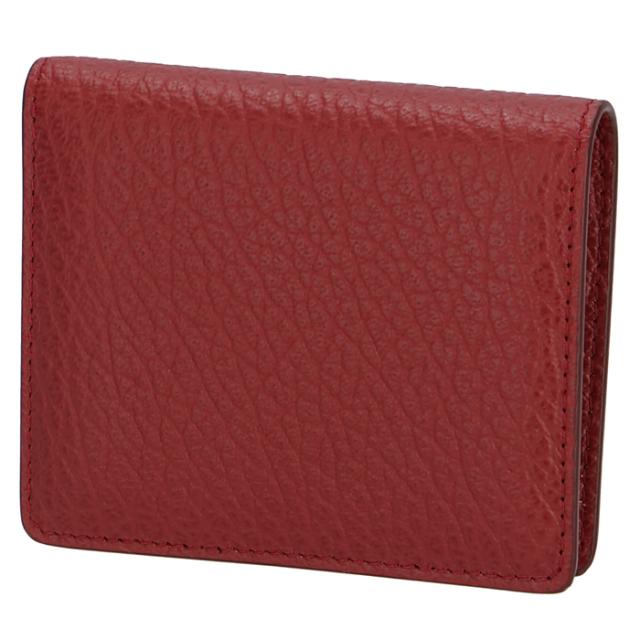 メゾン マルジェラ MAISON MARGIELA 2020年春夏新作 ミニ財布 レザー ポッパー ウォレット 二つ折り財布 S56UI0140 P0399 T4074