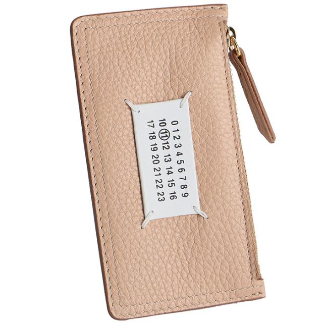 メゾン マルジェラ MAISON MARGIELA 2019年秋冬新作 ジップ付き財布 カードケース S56UI0143 P1858 T2057
