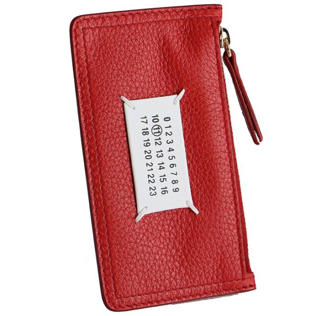メゾン マルジェラ MAISON MARGIELA 2019年秋冬新作 ジップ付き財布 カードケース S56UI0143 P1858 T4327