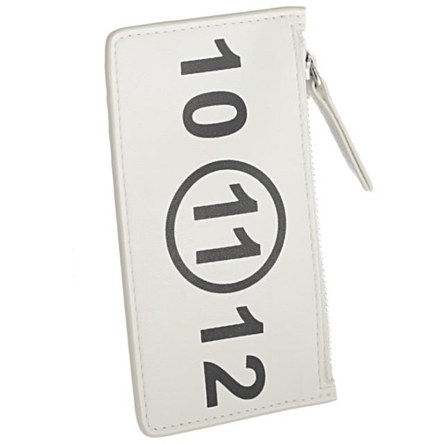 メゾン マルジェラ MAISON MARGIELA 2019年秋冬新作 カードホルダー&コインケース タグ付き レザー カードケース S56UI0143 PS064 T1003