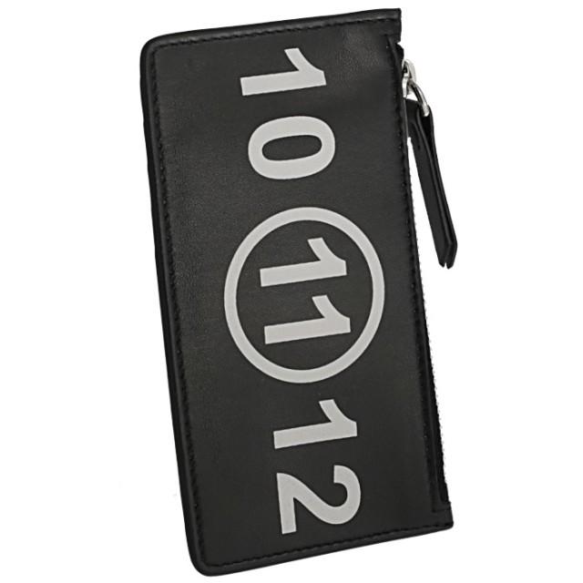 メゾン マルジェラ MAISON MARGIELA 2019年秋冬新作 カードホルダー&コインケース タグ付き レザー カードケース S56UI0143 PS064 T8013