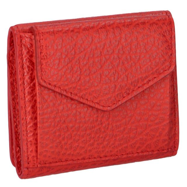 メゾン マルジェラ トリフォールド レザー ウォレット 三つ折り財布 S56UI0150 P0399 T4020【06-SS】