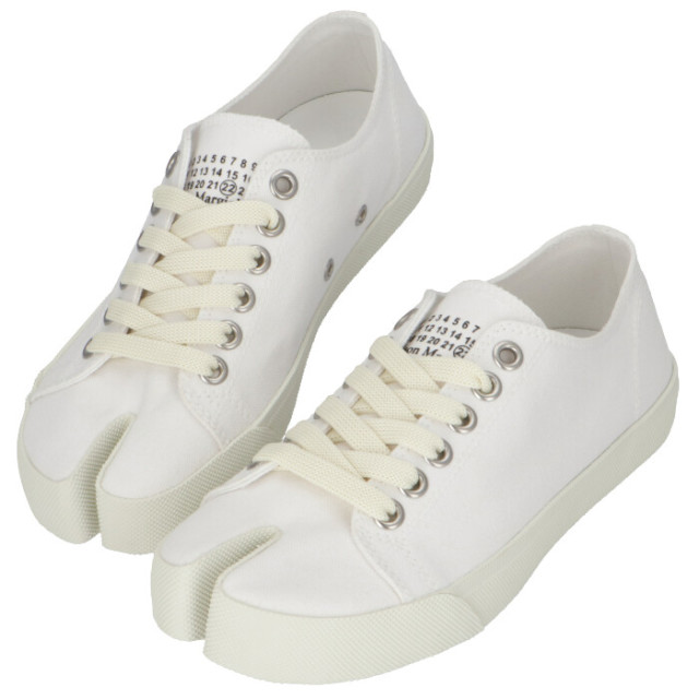 メゾン マルジェラ MAISON MARGIELA Tabi キャンバススニーカー 足袋シューズ 靴 スニーカー S58WS0110 P1875 T1003