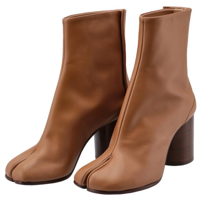 メゾン マルジェラ MAISON MARGIELA 2020年秋冬新作 Tabi タビブーツ 足袋ブーツ レザーブーツ  靴 ブーツ S58WU0260 PR516 T2287