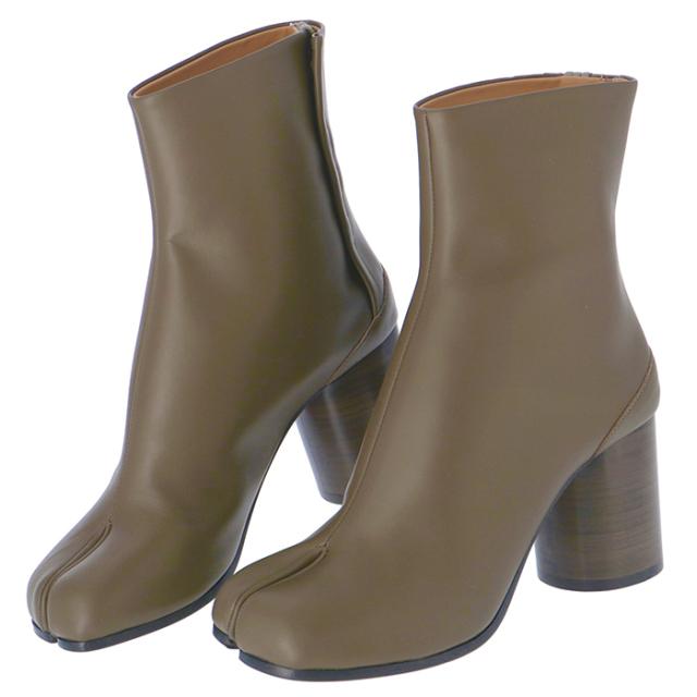 メゾン マルジェラ MAISON MARGIELA 2019年秋冬新作 Tabi タビブーツ 足袋ブーツ 靴 ショートブーツ S58WU0260 PR516 T7229