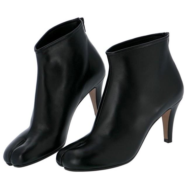 メゾン マルジェラ MAISON MARGIELA 2019年秋冬新作 Tabi タビブーツ 足袋ブーツ ショート 靴 ショートブーツ S58WU0272 PR107 T8013
