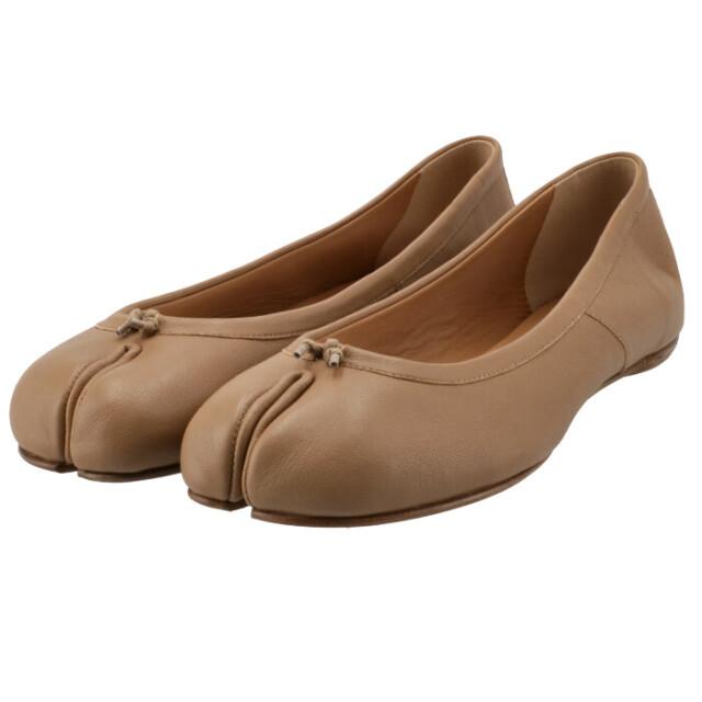 メゾン マルジェラ MAISON MARGIELA 2021年秋冬新作 Tabi タビ 足袋 バレエシューズ フラット 靴 バレエシューズ S58WZ0042 P3753 T4091