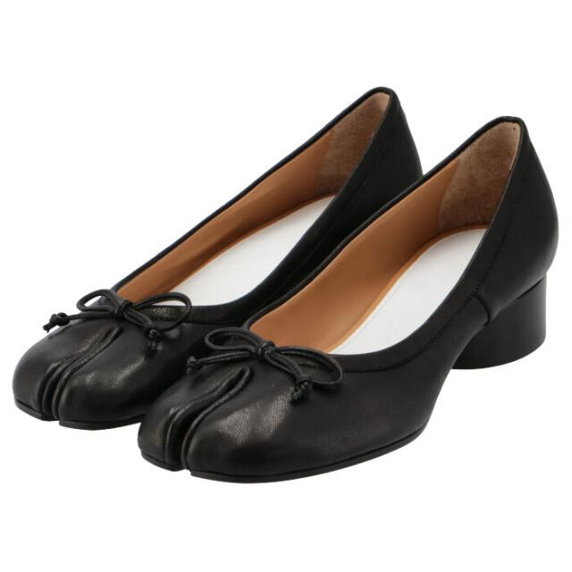 メゾン マルジェラ MAISON MARGIELA バレリーナ Tabi レザー パンプス 足袋シューズ 靴 パンプス S58WZ0044 P3753 T8013