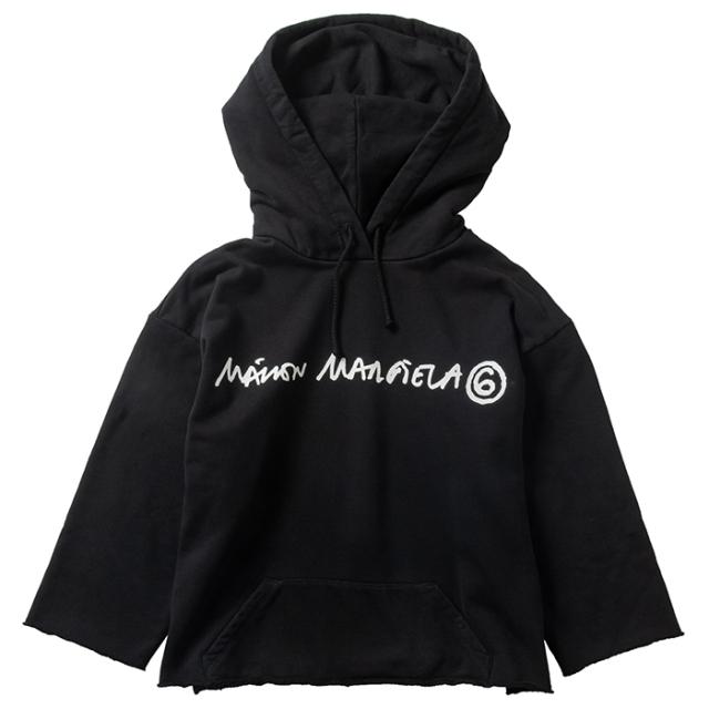 エム エム シックス メゾン マルジェラ MM6 MAISON MARGIELA スウェット パーカー ロゴ S62GU0046 S25337 900