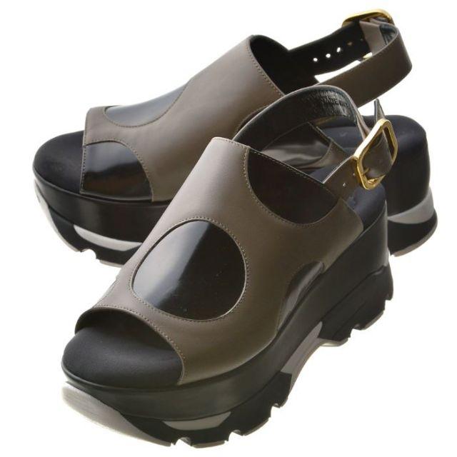 マルニ MARNI 靴 サンダル カーフスキン SAMSV27G08 LV623 ZI833
