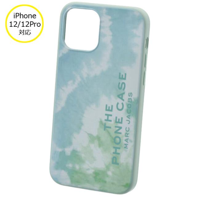 マークジェイコブス MARC JACOBS 2021年秋冬新作 iPhoneケース THE TIE DYE SILICONE iPhone12/12 pro スマホケース ブルー系 T507M02PF21 0036 401