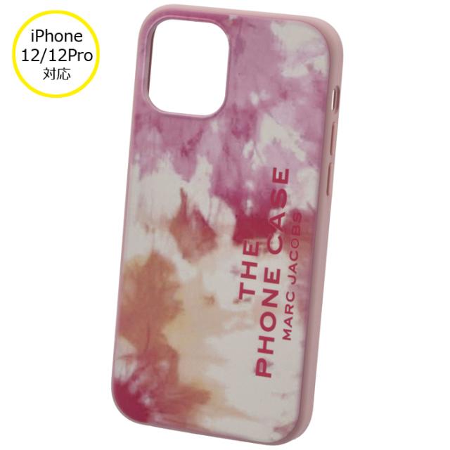 マークジェイコブス MARC JACOBS 2021年秋冬新作 iPhoneケース THE TIE DYE SILICONE iPhone12/12 pro スマホケース ピンク系 T507M02PF21 0036 699