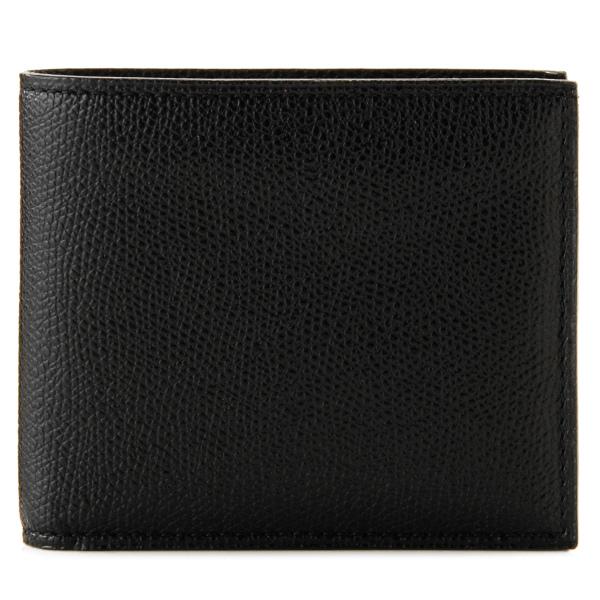 【送料無料】ヴァレクストラ VALEXTRA カーフスキン 二つ折り財布 V8L04 029 000N