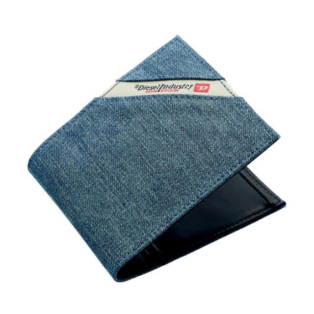 ディーゼル DIESEL 2019年春夏新作 財布 メンズ 二つ折り財布 DENIMLINE 二つ折り財布 X05268 PS778 H3820