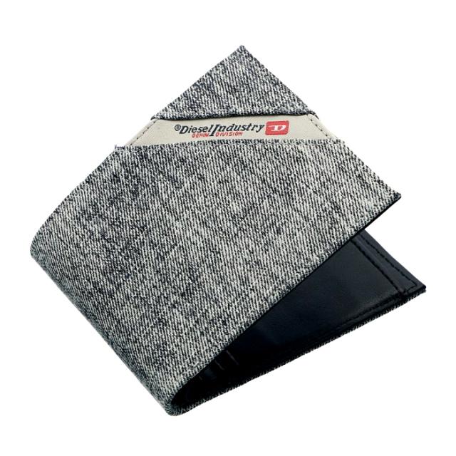 ディーゼル DIESEL 2019年春夏新作 財布 メンズ 二つ折り財布 DENIMLINE 二つ折り財布 X05268 PS778 H6027