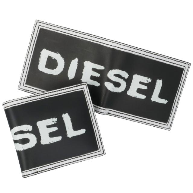 ディーゼル DIESEL 2019年秋冬新作 財布 メンズ ロゴ 二つ折り財布  メンズ 二つ折り財布 X06497 P0286 H1532