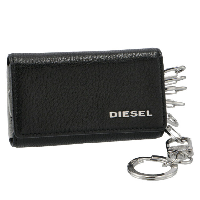 ディーゼル DIESEL メンズ 6連キーケース THESTARTER ブラック X06640 P3043 H0999