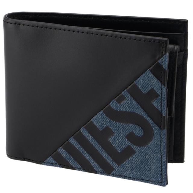 ディーゼル DIESEL 2020年春夏新作 メンズ 財布 二つ折り HIRESH S TOLLE メンズ 二つ折り財布 X06747 P3178 H1146