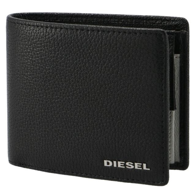 ディーゼル DIESEL メンズ 財布 二つ折り THESTARTER 折りたたみ ブラック×ホワイト X06757 P3043 H0999