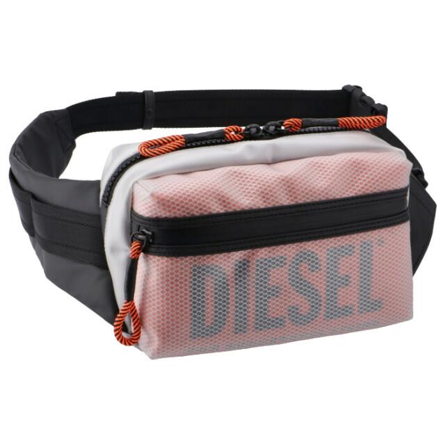 ディーゼル DIESEL 2020年春夏新作 ボディバッグ メンズ CAGE ベルトバッグ ウエストバッグ FAROH ボディバッグ X06820 P3196 H8013