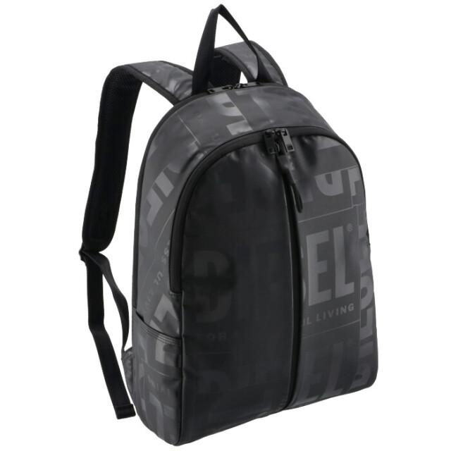 ディーゼル DIESEL メンズ バックパック BOLD MESSAGE リュックサック ブラック X07651 P3893 T8013