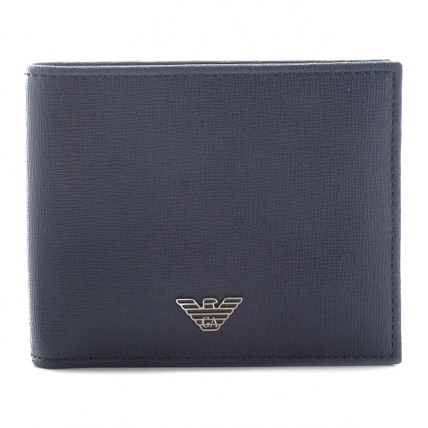 エンポリオ アルマーニ EMPORIO ARMANI カーフスキン メンズ 二つ折り財布 YEM122 YC91E 80033