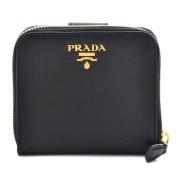 プラダ PRADA サフィアーノ メタル 二つ折り財布 1ML522 QWA 002