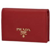 プラダ PRADA 2020年春夏新作 財布  二つ折り サフィアーノ 二つ折り財布 1MV021 QWA 68Z