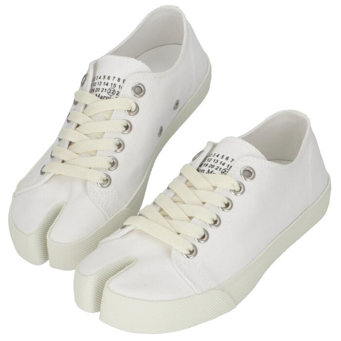 メゾン マルジェラ MAISON MARGIELA 2020年春夏新作 Tabi キャンバススニーカー 足袋シューズ  靴 スニーカー S58WS0110 P1875 T1003
