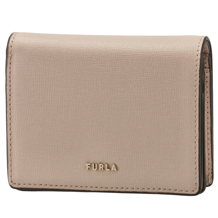 フルラ FURLA 2021年秋冬新作 財布 二つ折り財布 バビロン BABYLON コンパクト ウォレット ベージュ系 WP00075 B30000 B4L00
