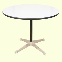 ft0255ハーマンミラーEamesイームズテーブル丸コントラクトベース