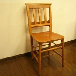 アンティーク椅子 チャーチチェア