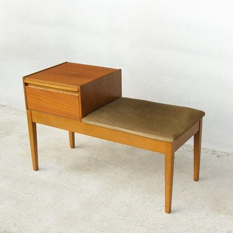 ビンテージ椅子 テレフォンベンチ