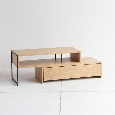 オーク天然木テレビ台ナチュラル