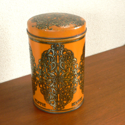 ac0159アンティークコーヒー缶*amber design*北欧家具やビンテージ雑貨等のインテリア通販