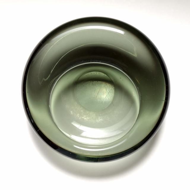 ビンテージのホルムガード灰皿 グレー