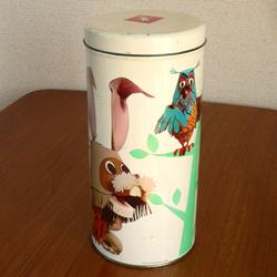 ac0195オランダのビスケット缶*amber design*北欧家具やビンテージ雑貨等のインテリア通販