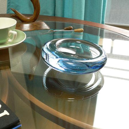 ac0197Holmegaardホルムゴーガラス灰皿