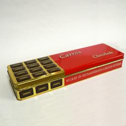 ac0220アンティークチョコレート缶*amber design北欧中古家具やヴィンテージ雑貨等のインテリア通販