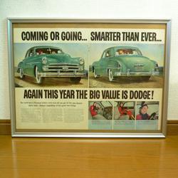ac0224LIFE誌広告フレームDodge*amber design北欧中古家具やヴィンテージ雑貨等のインテリア通販