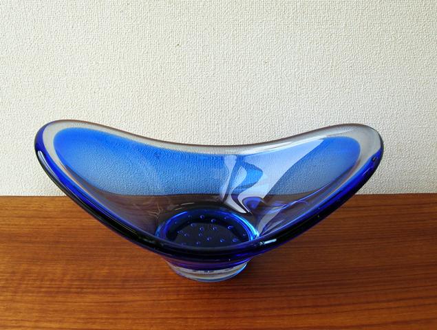 ガラスベース ブルーバブル